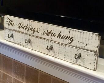 Custom Stocking holder