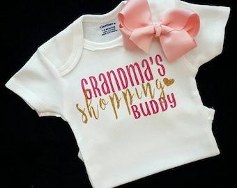 Grandma onesies, Grandma baby clothes, Baby girl clothes, Baby girl onesies, Onesie, Onesies, Baby onesies, Baby girl, Baby shower gift