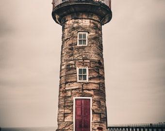 Fine Art Whitby Lighthouse Yorkshire Landscape Photography Print
