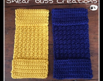 Crochet Swiffer Covers Washable Reuseable Set/2