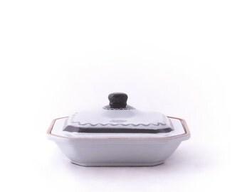 Swedish Ceramic Covered Dish