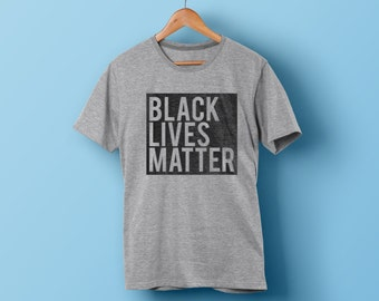 Black Lives Matter Shirt - #blacklivesmatter T-shirt