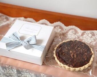 20 Tartlet boxes in white, mini pie boxes, tart boxes, wedding favor, party favor,baking supplies