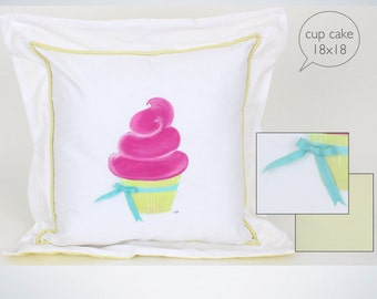 Cushion collection cup cake