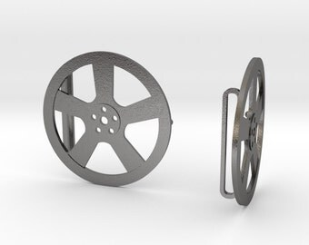 Mens Car Automotive Alloy Wheel Rims Steel Belt Buckle, 3D Printed