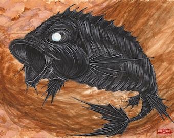 Koi series, Apocalypse fish - famine