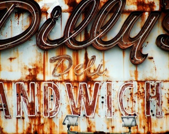 Dilly's Deli Metal Print