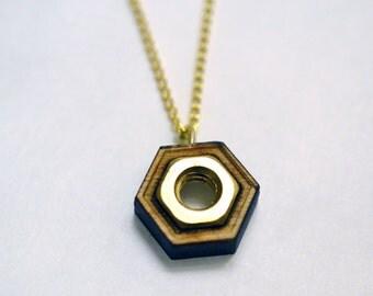 Hex necklace