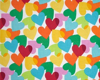 Michael Miller - Big Hearts Fabric