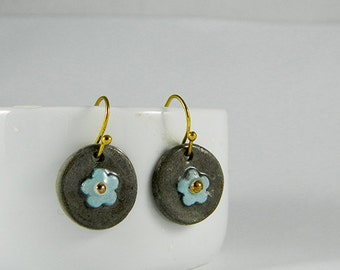 Blue Blossom Earrings