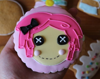 ginger cookie lalaloopsy