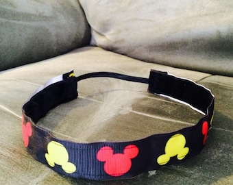 Mickey Mouse non-slip headband
