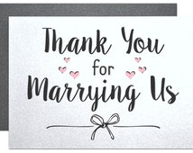 gift wedding officiant, wedding card to ask officiant, card for friend ...
