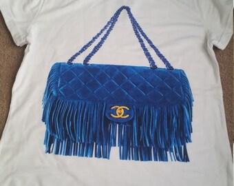 SALE!!Chanel Fashion handbag t-shirt