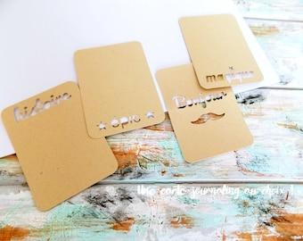 Cards Journaling Kraft #2