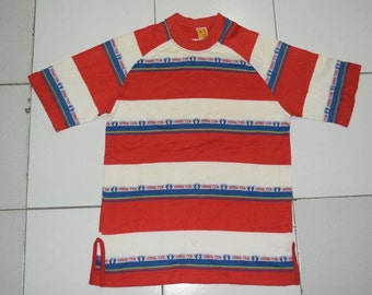 Vintage 70s HangTen Stripe Shirt summer