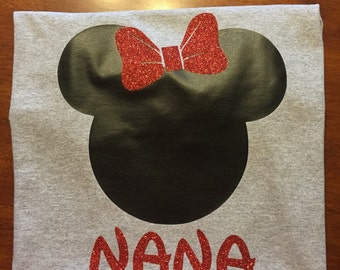 Minnie Mouse or Mickey Mouse Shirt