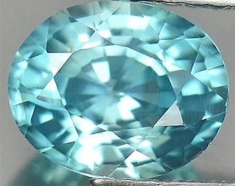 2.00ct Aqua Blue Zircon (VS1 clarity)