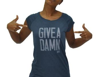 Give A Damn Bamboo shirt