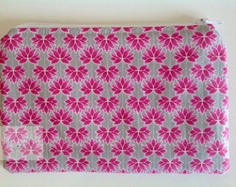 Make Up Bag  - Pink Lotus