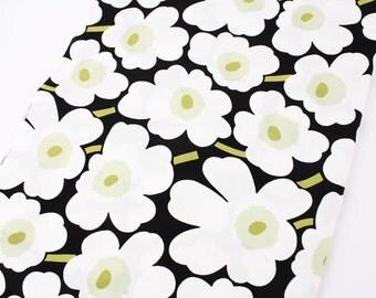 "Marimekko Mini Unikko Fabric from Finland, 30cm by 70cm or 12"" by 27.5"""