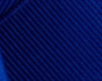 Dark Royal Blue Grosgrain Ribbon     (05-##-S-254)