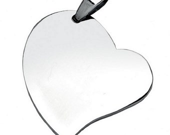 Personalized Heart Necklace with engraving photos/text