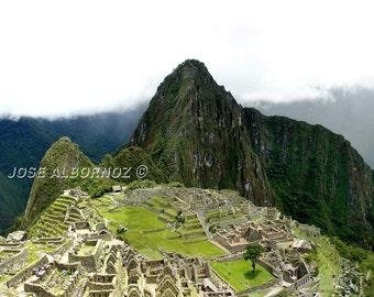 Machu Picchu, sacred city of the Incas