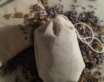 lavender & chamomile sachet
