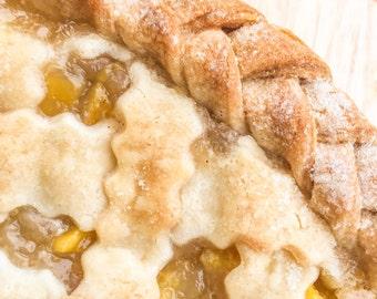 Lattice Pie with Braided Crust, Fruit Pie, Rustic Weddings, Barn Weddings