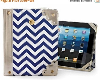 FlashSALE Navy Chevron iPad Case from Mud Pie
