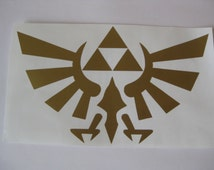 Zelda Wingcrest Decal, Nintendo Sticker, Legend of Zelda Decor