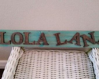 Custom wood sign for any room in your home.
