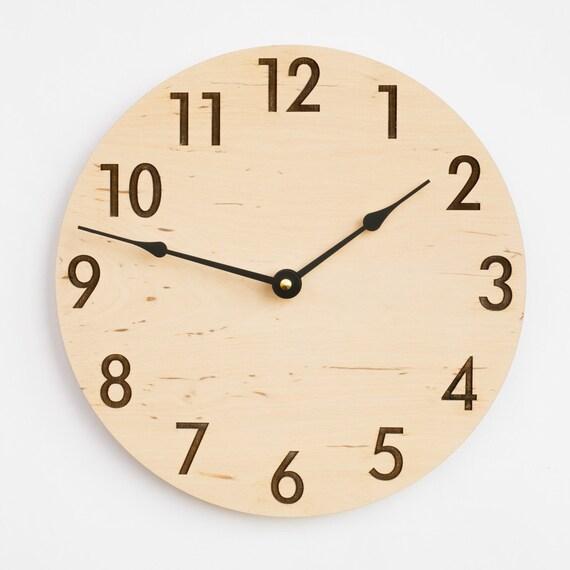 modern clock rustic style large clock large wall clock