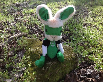 Green Lantern bunny