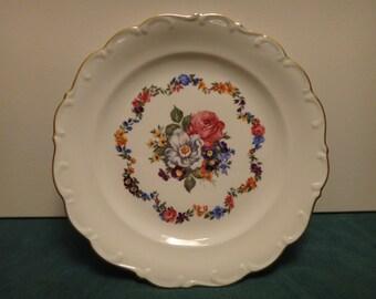 Vintage 1950's serving plate