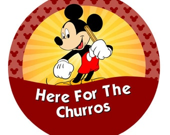 Here For The Churros – Mickey or Minnie