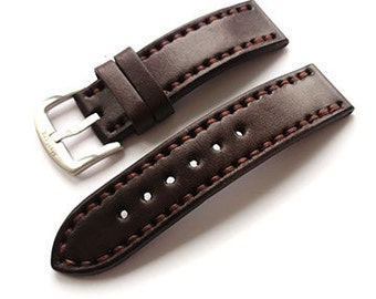 Leather watch band, leather watch strap, 18 mm watch band 20 mm watch band 22 mm watch band 24 mm watch band, watch strap 18 watch strap 20