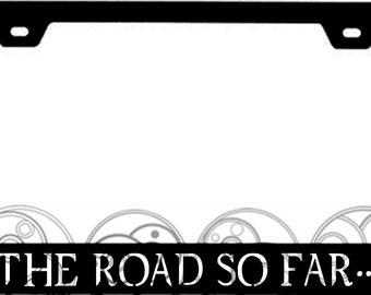 Supernatural Inspired License Plate Frame