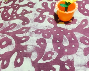 Vegetable dye pure cotton mul mul