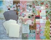 Card Making Kit, Birthday Cards, Birthday Card Making Kit, Card Making, DIY Greeting Cards, Card Kit, Kits, Crafts, Cards, Handmade Cards