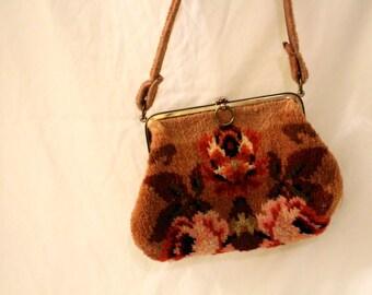 Vintage Carpet Shoulder Bag