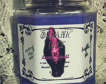 LOVE SPELL soy candle. Our version of Victoria secret