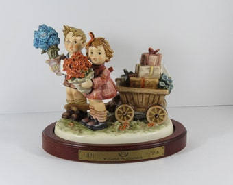 "Immaculate Goebel ""Love's Bounty"" Century Hummel Signed Figurine #751 In Original Box"