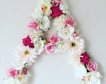 Flower Letter - Wall hanging