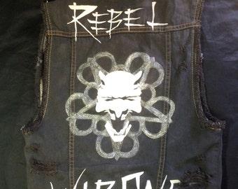 Black Veil Brides spiked vest