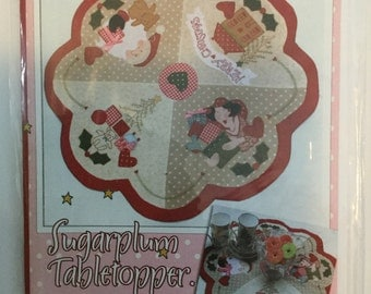 Sugarplum Tabletopper - Red Brolly
