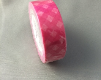 Pink Lattice Washi tape