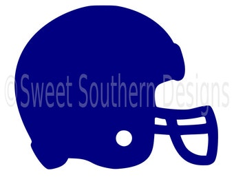Football helmet SVG instant download design for cricut or silhouette