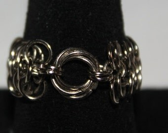 European 6-1 & Mobus Chainmaille Ring
